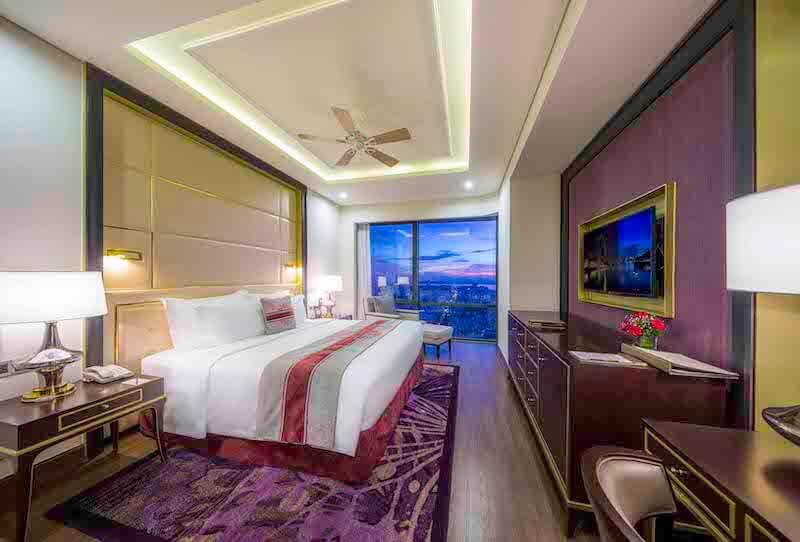 Nội thất sang trọng, tiêu chuẩn 5 sao của khách sạn Vinpearl